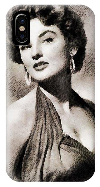 Allison iPhone Case - Allison Hayes, Vintage Actress by John Springfield