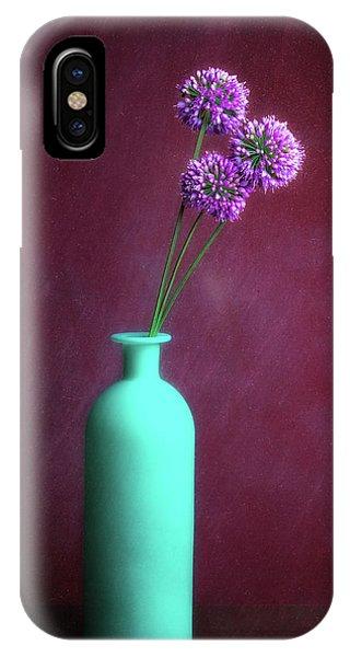 Allium Medusa Flower IPhone Case