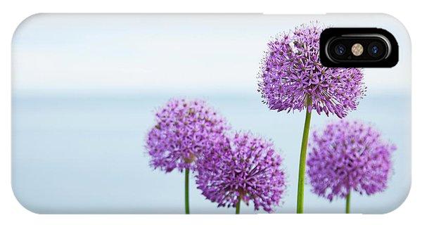 Alliums 1 IPhone Case