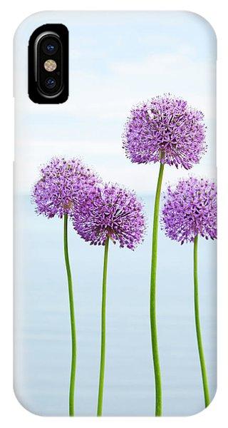 Alliums 2 IPhone Case