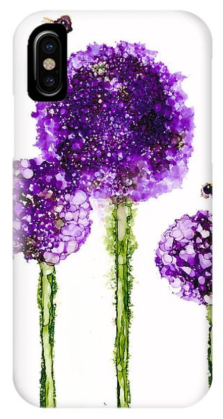 Alliums Humming IPhone Case