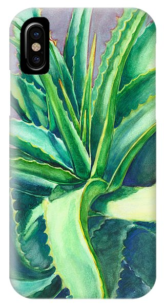 Aloe Vera Watercolor IPhone Case