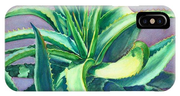 Aloe Vera Watercolor IPhone Case