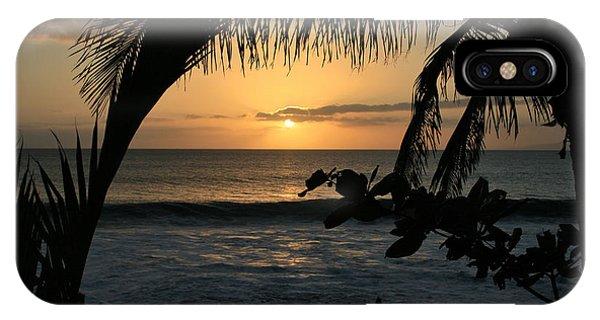 Aloha Aina The Beloved Land - Sunset Kamaole Beach Kihei Maui Hawaii IPhone Case