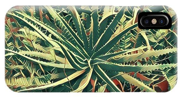 Aloha Aloe In Puna IPhone Case