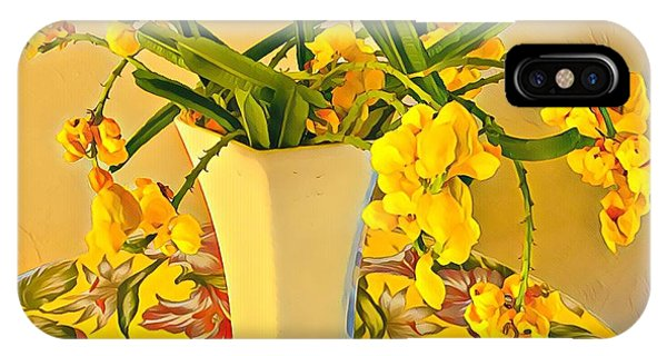 Aloha Bouquet Of The Day - Yellow Wild Flowers IPhone Case