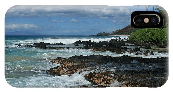 Aloha Island Dreams Paako Beach Makena Secret Cove Hawaii IPhone Case