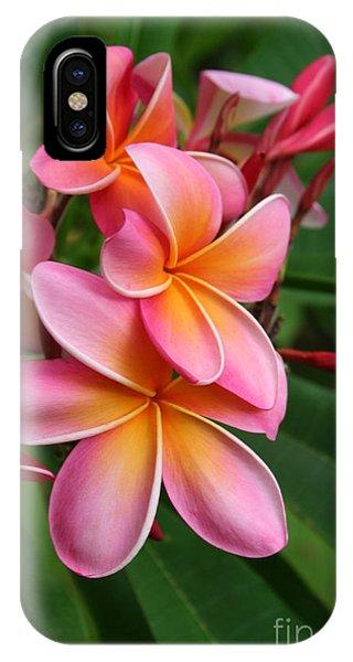 Aloha Lei Pua Melia Keanae IPhone Case
