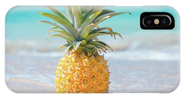 IPhone Case featuring the photograph Aloha Pineapple Beach by Sharon Mau