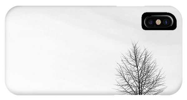 Alone In The Storm IPhone Case