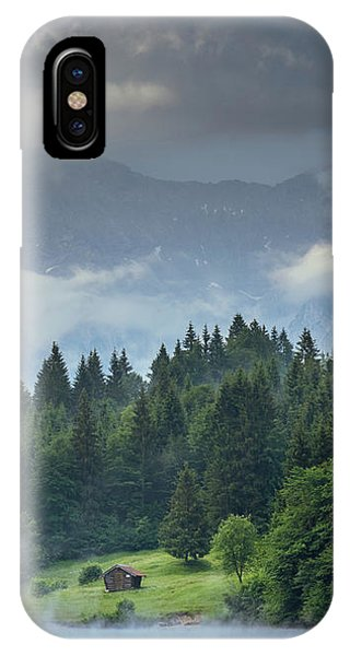 Alone In German Alps IPhone Case