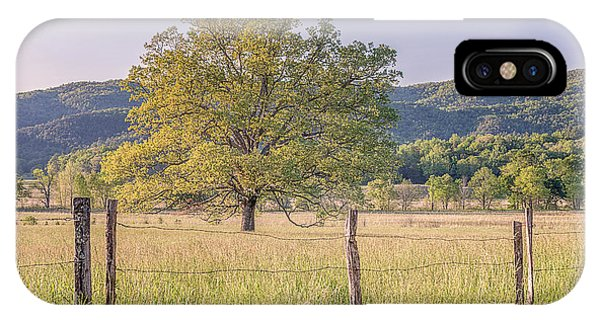 Alone In The Pasture IPhone Case