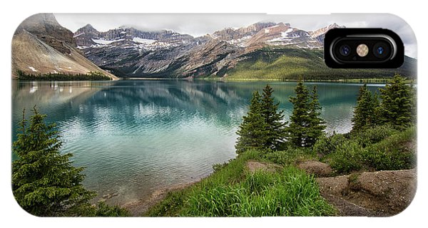 Along Icefields Parkway IPhone Case