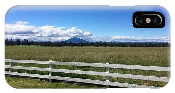 Along The Fence Line IPhone Case
