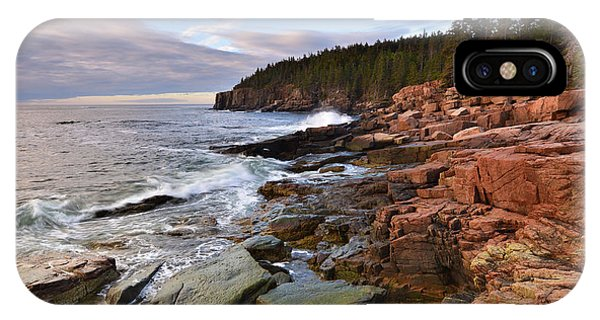 Along The Maine Coastline IPhone Case