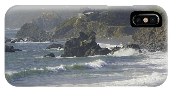 Along The Pacific #2 IPhone Case