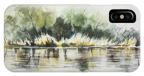 Along The River Banks IPhone Case