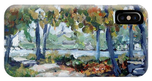 Rockford iPhone Case - Along The River by Ingrid Dohm