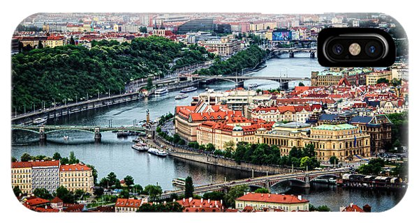 Along The Vltava River IPhone Case