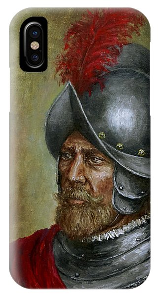 Alonso De Alvarado IPhone Case