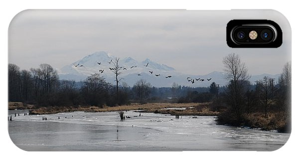 Alouette River IPhone Case
