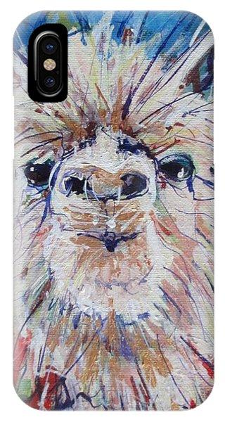 Alpaca Crazed IPhone Case