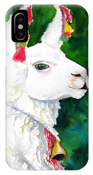Alpaca With Attitude IPhone Case