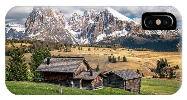 Alpe Di Suisi Cabin IPhone Case