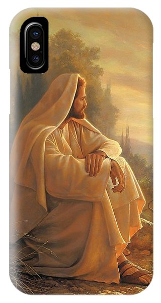 Temple iPhone Case - Alpha And Omega by Greg Olsen
