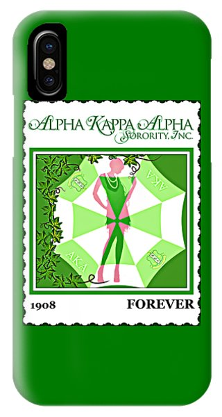 Alpha Kappa Alpha IPhone Case