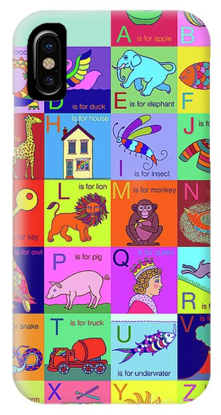 Alphabet For Children IPhone Case