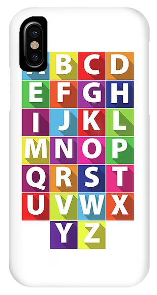 Alphabet IPhone Case