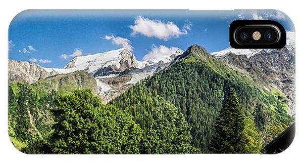 Alpine Chalet IPhone Case