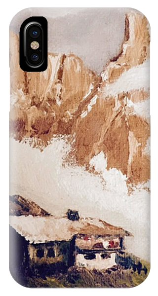 Alpine Home  IPhone Case