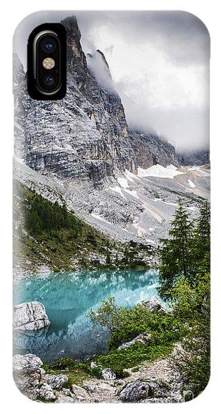 Lake iPhone X Case - Alpine Lake by Yuri San