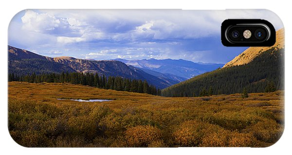 Alpine Pond IPhone Case