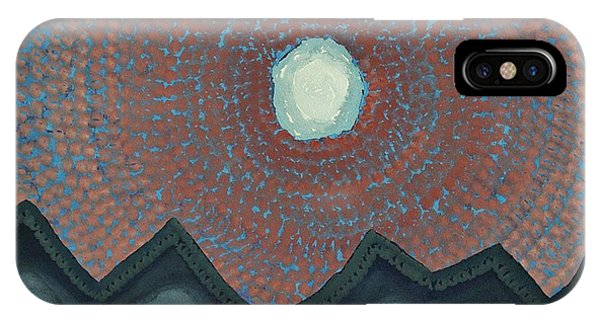 Alpine Resonance Original Painting IPhone Case
