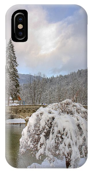 Alpine Winter Beauty IPhone Case