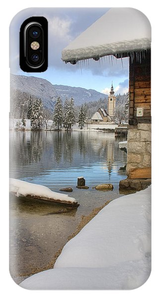 Alpine Winter Clarity IPhone Case