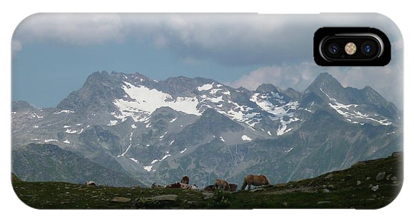 Alps Magenificence IPhone Case