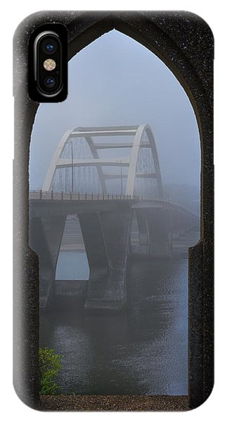 IPhone Case featuring the photograph Alsea Bay Bridge by Darren White