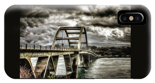 Alsea Bay Bridge IPhone Case