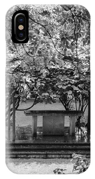 Altar In The Garden IPhone Case