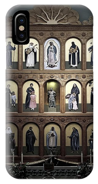 Altar Screen Cathedral Basilica Of St Francis Of Assisi Santa Fe Nm IPhone Case