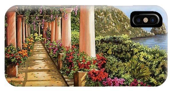 Columns iPhone Case - Altre Colonne Sul Golfo by Guido Borelli