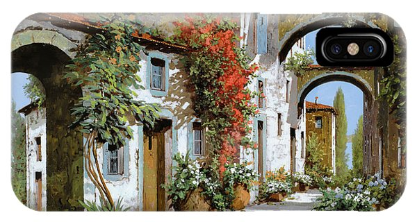 Arched iPhone Case - Altri Archi by Guido Borelli