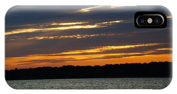 Alum Creek Sunset IPhone Case