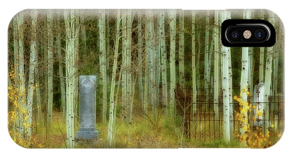 Alvarado Cemetery 41 IPhone Case