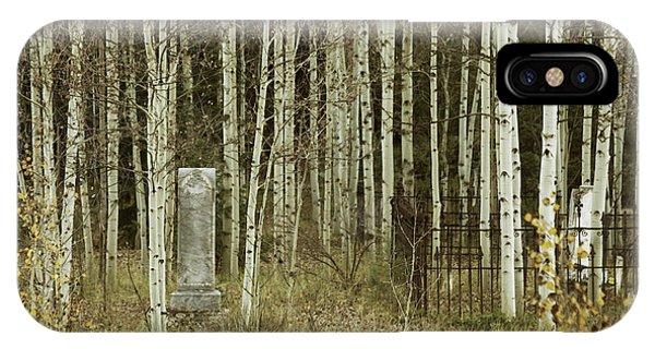 Alvarado Cemetery 42 IPhone Case