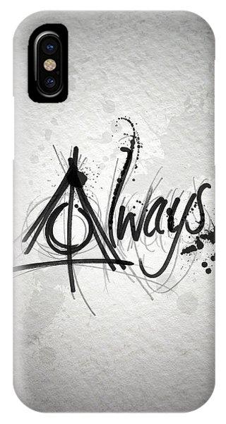 Movie iPhone Case - Alway by Samuel Whitton
